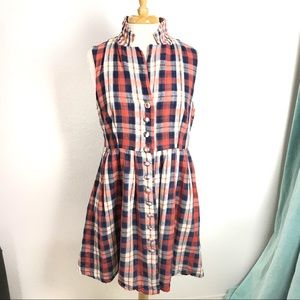 Plaid Dress by Modcloth 100% Cotton